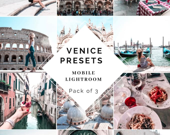 Magic Venice Presets Pack of 3