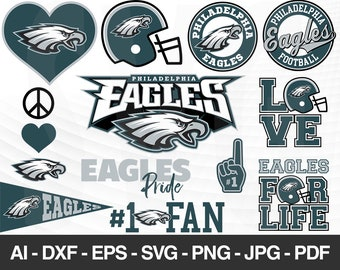 Philadelphia Eagles Svg Etsy