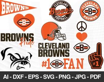 Browns svg files   Etsy
