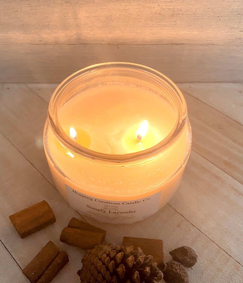 Cinnamon Stick Candle Scented Candle- Fall Candles- Natural Wax Candles -Vegan Candles Handcrafted Candle Soy Candle