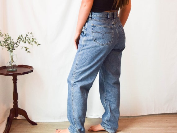 high waist jeans / 33W / high waisted jeans / vint