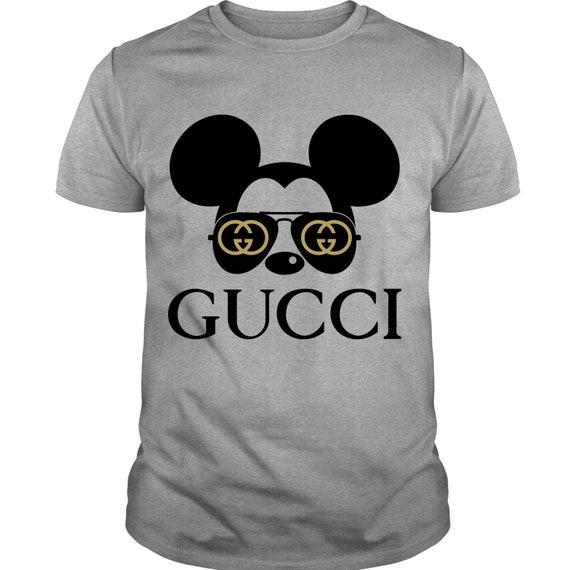 096f805e8d3bc5 ... gucci mickey fashion t shirt gucci logo and mickey t shirt etsy ...