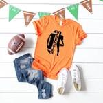 Mom's personalized football shirt, Football Mom shirt, Football Mom's life, Football, Football fan wear, Football fan shirt, Varsity tee