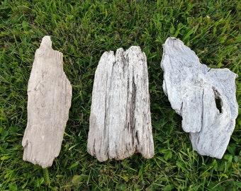 Natural flat driftwood lot for aquarium, vivarium, terrarium or craft