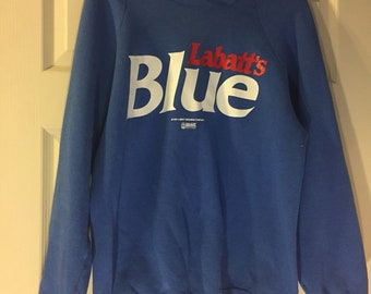 1990 s Labatt s Blue Beer Sweater Size Large a9f135ed14d4
