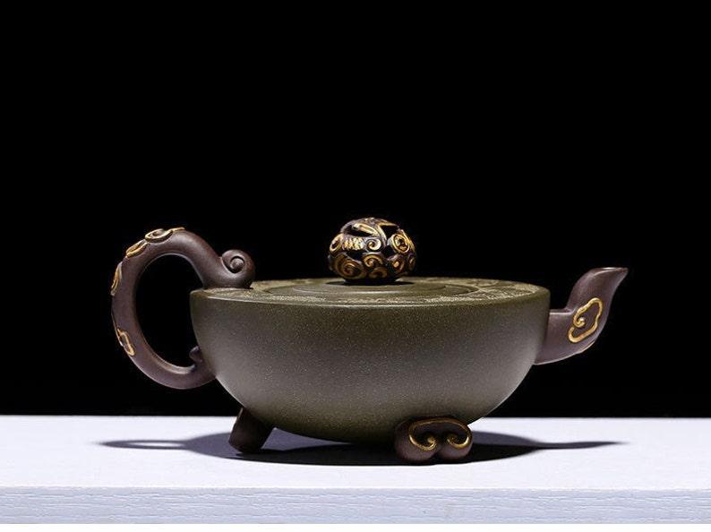 Handmade Yixing Zisha Clay Teapot F0802 240ml