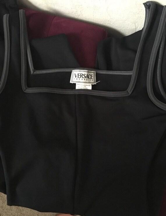 Vintage versace 90's vintage catsuit