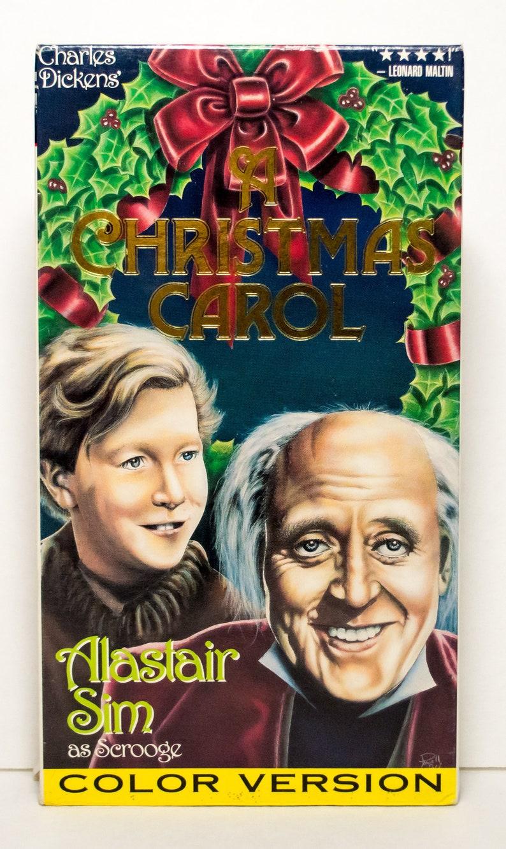 Original Christmas Carol Movie.A Christmas Carol 1994 Vhs