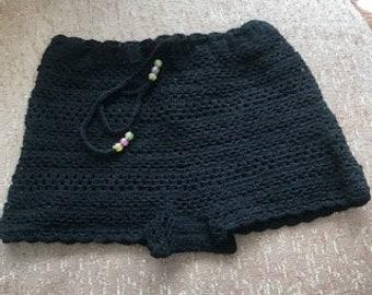 Crochet Shorts Etsy