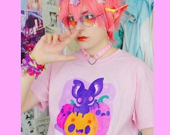 Halloween shirt - Spooky shirt - Kawaii Halloween - Spooky kawaii - Kawaii clothing - Kawaii shirt - Spooky clothing - 176T