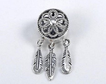 c2d697391 New Authentic Pandora Spiritual Dream Catcher Dangle Charm s925 Sterling  Silver 797200