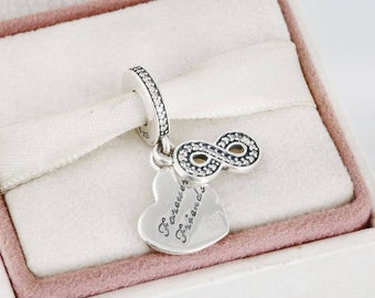 997ddfee84f Pandora Forever Friends Charm Charms Bead Beads Authentic Genuine Original  S925