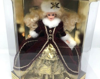 15646 Special Edition NRFB Happy Holiday Barbie 1996