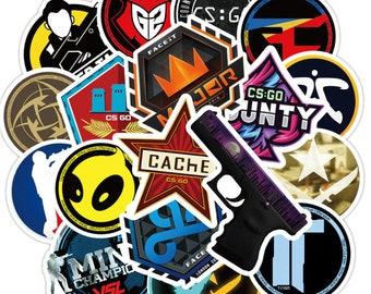 50 Pcs Pack Cs Gehen Spiel Aufkleber Set Aufkleber Für Kinder Gepäck Skateboard Laptop Teem Aufkleber Sammeln & Seltenes