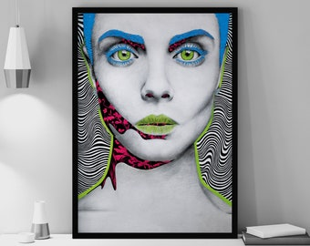 Neon Poison - Wall Decor (Limited Edition) by Angela Pencheva