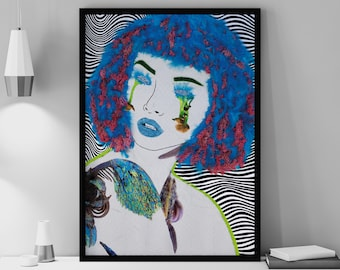 Intoxicated Verdict - Wall Decor (Limited Edition) - by Angela Pencheva