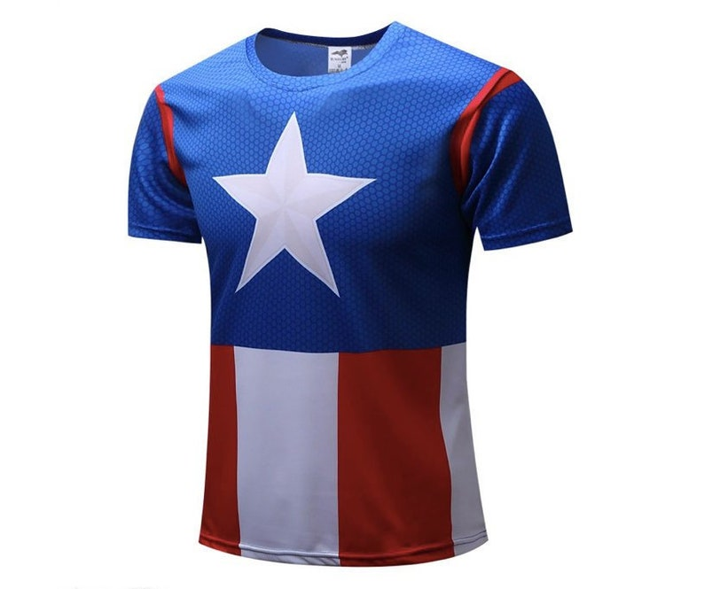 Captain America The Winter Soldier Mens Top Shirts T-shirt//Hoodie Sweater Jersey