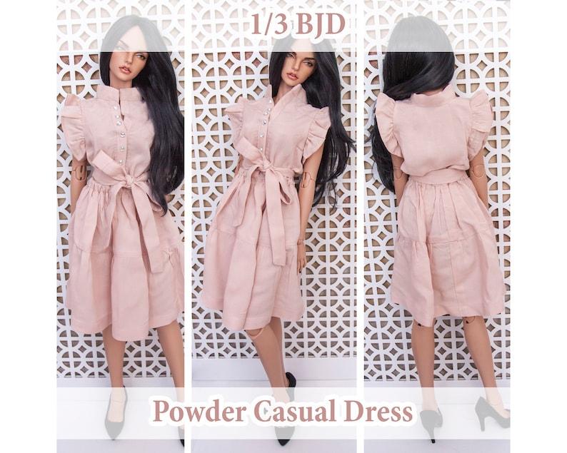 6ccfc1937175a Powder Casual Dress BJD SD doll | Iplehouse sid clothes | Dress for doll |  BJD doll dress | dress clothes sd13 sd10 | Iplehouse clothes