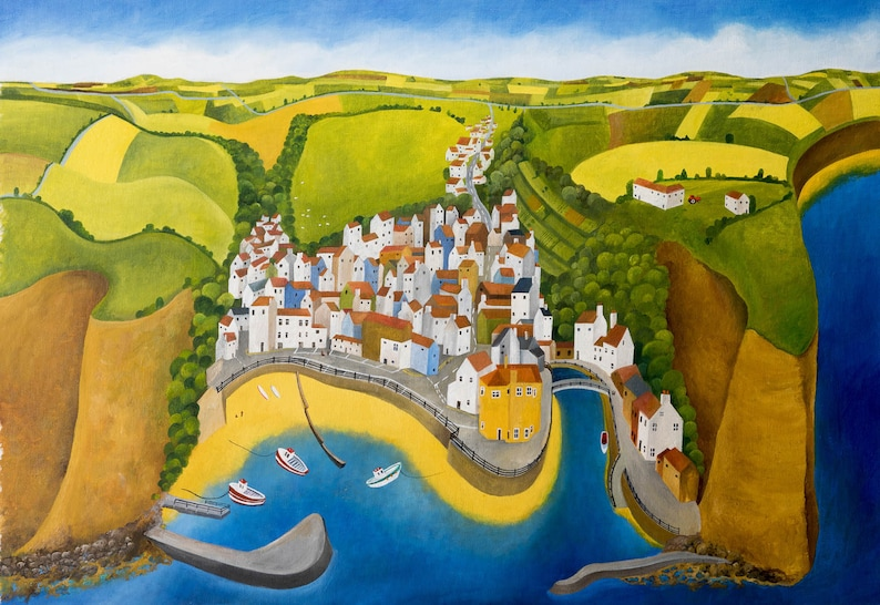 Staithes Harbour image 0