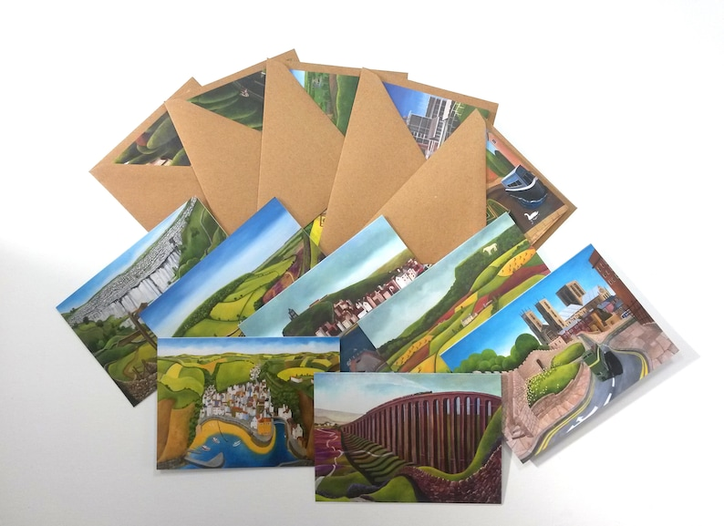 Pack of 12 Yorkshire Notelets image 0