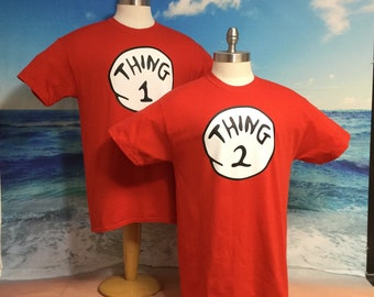 1cb6a91e thing 1 and thing 2 shirts nice cute new kids adults thing one two  Halloween - Thing 1 - 10 NB/Youth/Adult Our #1 Seller
