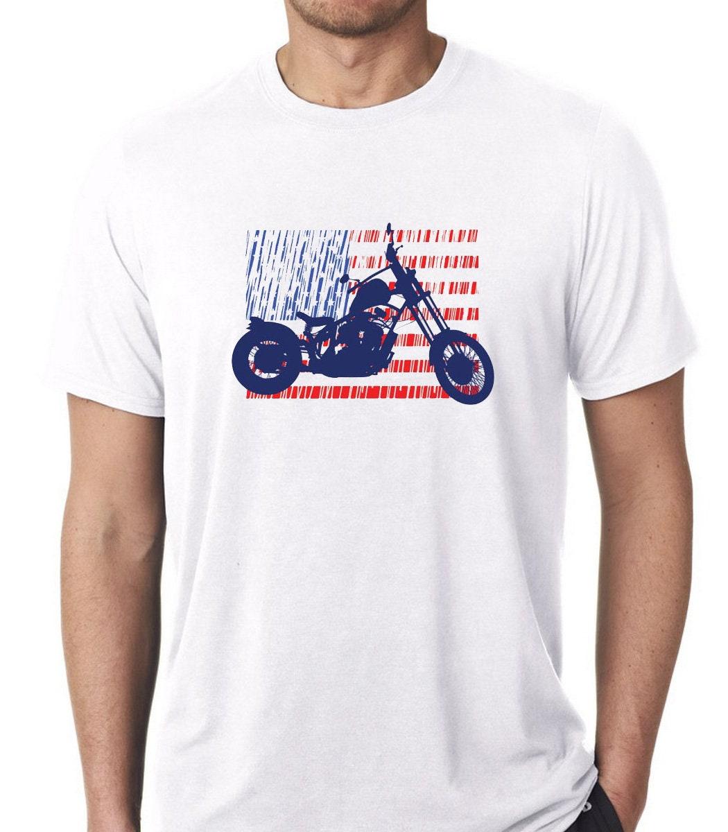 Ride Or Die nous drapeau - Custom Bike - - Bike moto - né pour conduire - café Racer - moto classique - Vintage moto - motard - hommes T shirt 56f499