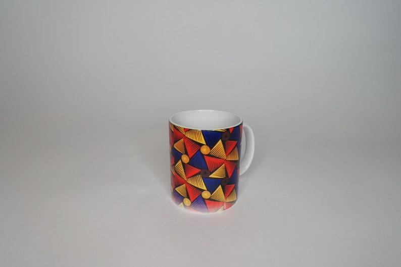 Ankara Print Mug