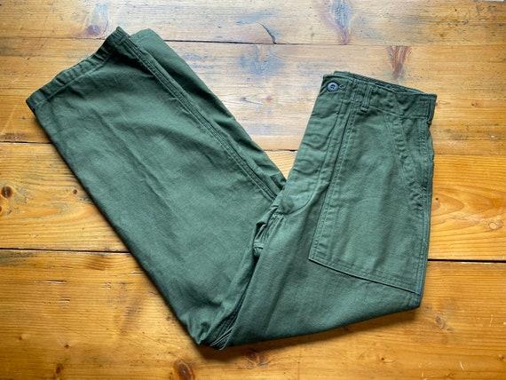 Military green pants OG-107