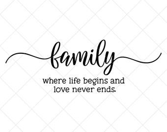 Family Svg Sayings Etsy
