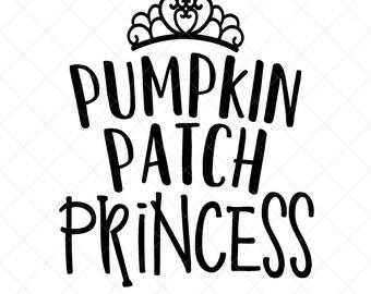 Pumpkin Patch Princess Svg Etsy