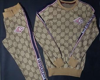 women gucci g double gg tracksuit pants sweatshirt 2 piece handmade classic  valentines day gift f583dbaa25547