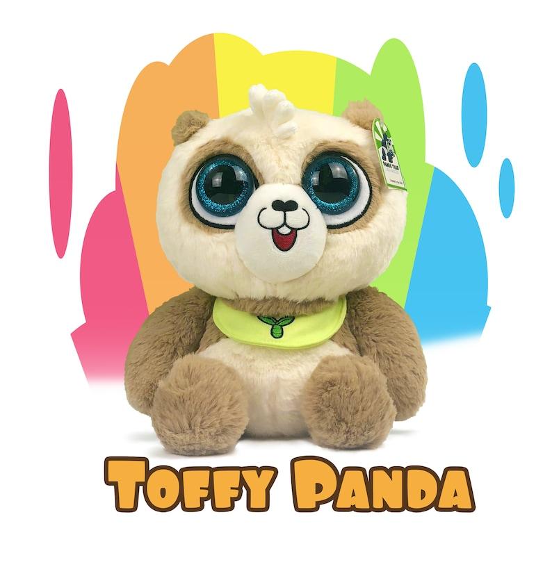 Toffy the Brown Panda Plush Toy by Panda Yeah 13inch image 0