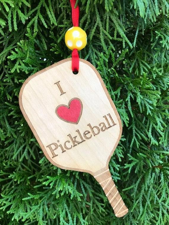 Pickleball Ornament