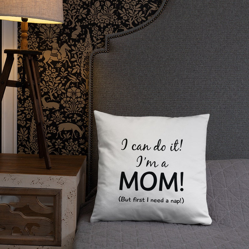 Funny Mother's Day Pillow by Print-on-Demand