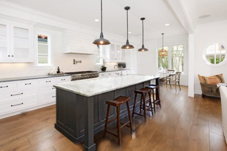 7ft gray kitchen island without counter top image 0