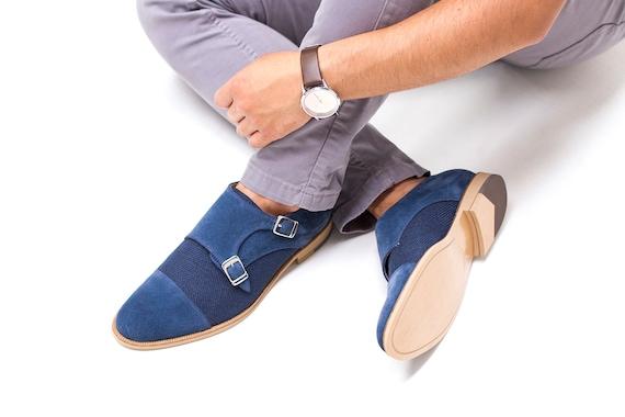 Monk Strap Shoes Men Double Monk Strap Handmade Monk Strap Etsy
