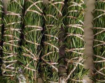Rosemary herb bundles