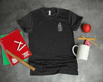 Teaching Is My Jam Ball Mason Jar Heart Sights Ink Graphic T-shirt