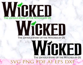 Wicked the musical | Etsy