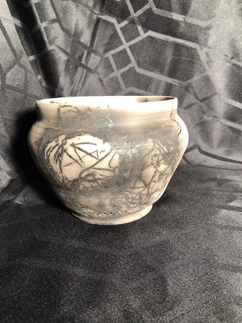 Horse Hair Pottery Vase  Spiritual Gift  Wedding Gift  Anniversary Gift
