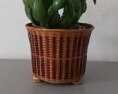 Pot-pot flower pot wicker pot