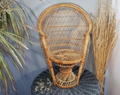 Rattan armchair 47 cm Emmanuelle armchair Rattan armchair Wicker chair Doll armchair