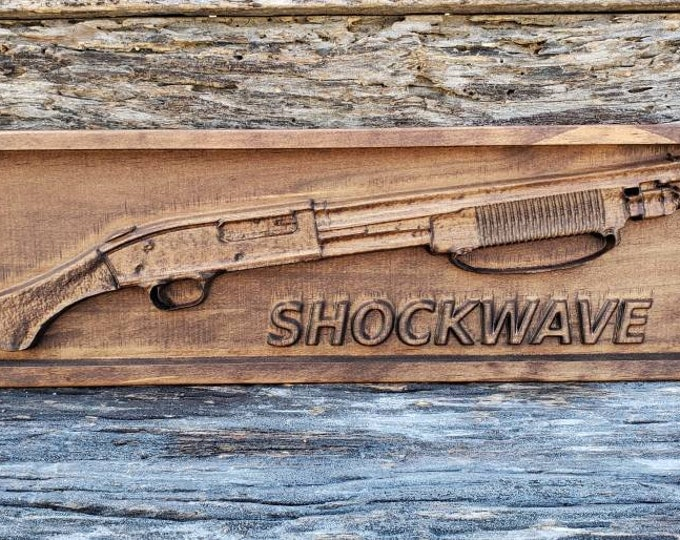 12 Gauge Shotgun Sign Shotgun Sign Shotgun Decor Wooden Shotgun Decor Gun Gift For Men Mancave Decor Wooden Gun Sign Patriotic Decor Guns