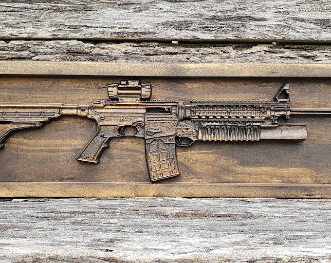 Wooden Military Rifle