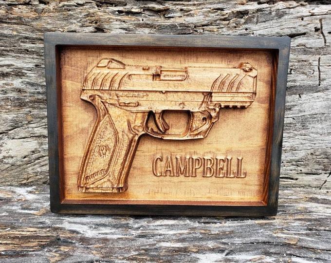 Handgun Sign