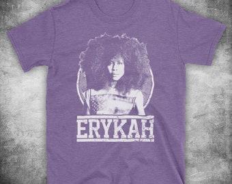 Erykah Badu Tribute American Neo Soul R B Funk Singer Unofficial Mens T- Shirt 8fc44a138