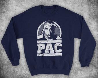 060c284c5be64 Tupac Shakur 2Pac Pac Tribute American Rapper Unofficial Unisex Adults  Sweatshirt