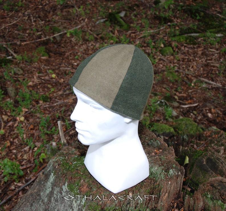 Medieval Wikinger Viking Age Two colors woolen hat Birka style Viking Woolen hat