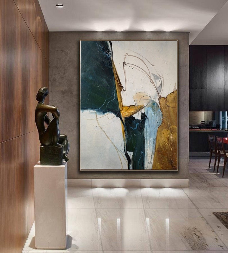 Original Abstract Painting Minimalist Abstract Painting image 0