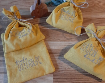 Easter bags for gifting in different colours